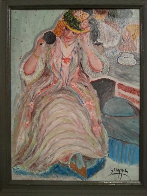 La femme au chapeau (2014)