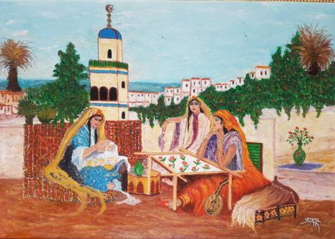 Femmes à la terrasse (2017)